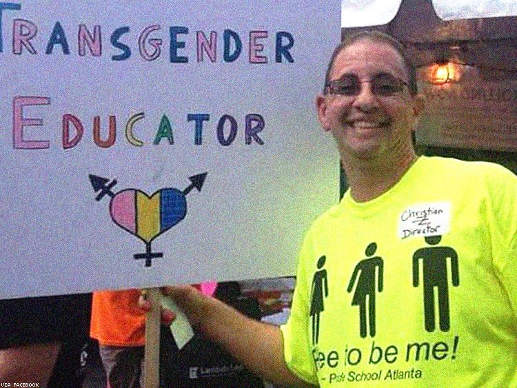 Christian Zsilavetz , pendiri Pride School Atlanta sumber foto : advocate.com