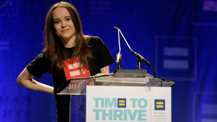 Ellen Page sumber foro : blogs.indiwire.com