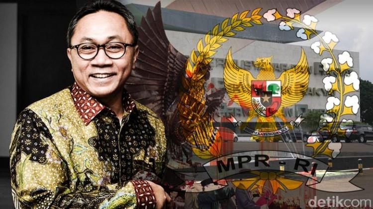 Ketua MPR, Zulkifli Hasan sumber foto : detik.com