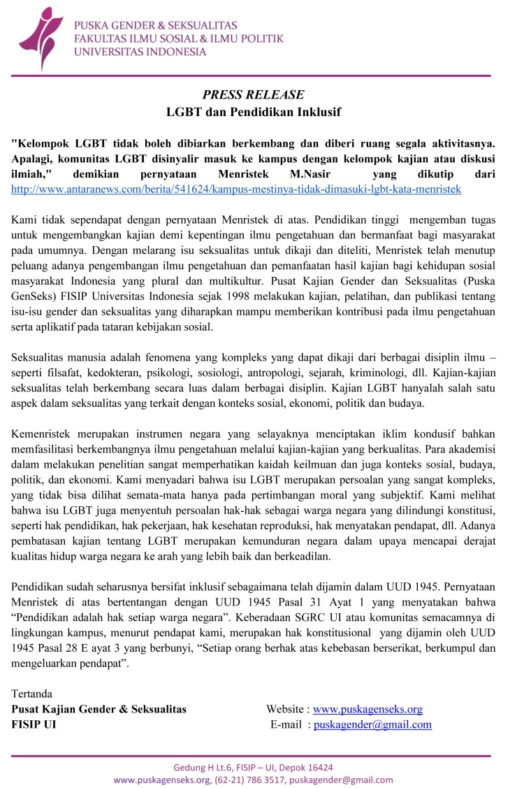Press-Release-LGBT-dan-Pendidikan-Inklusif-Puska-GenSeks-UI
