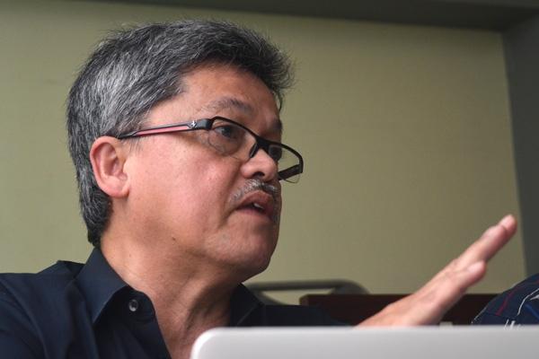 Rafendi Djamin, Direktur Eksekutif Human Right WOrking Group Indonesia sumber foto: satuharapan.com
