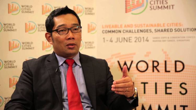 Ridwan Kamil, Walikota Bandung Sumber foto : youtube