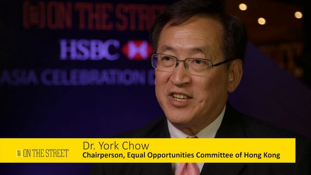 York Chow, Equal Opportunities Commission