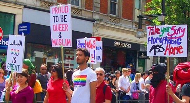Ilustrasi Parade Gay Muslim Sumber : sdgln.com