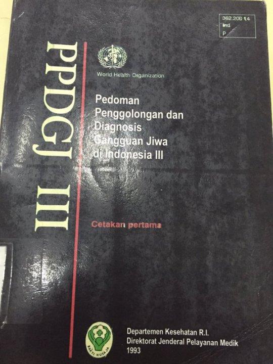 herman saksono PPDGJ_III-sampul_cover