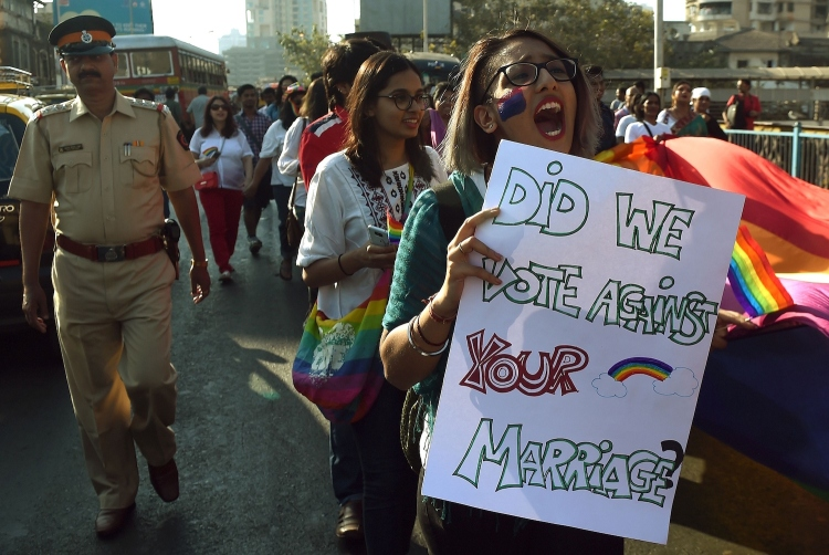 Pride in Mumbai Sumber: pinknews, foto Getty - under licence
