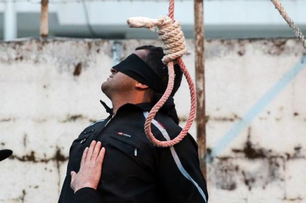 Ilustrasi hukuman mati di Iran Sumber: middleeasteye.com