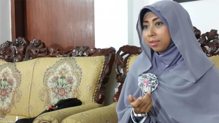 Ketua DPD Gerakan Wanita Nusantara, Arsyita Rokhma Sumber : Tribunnews