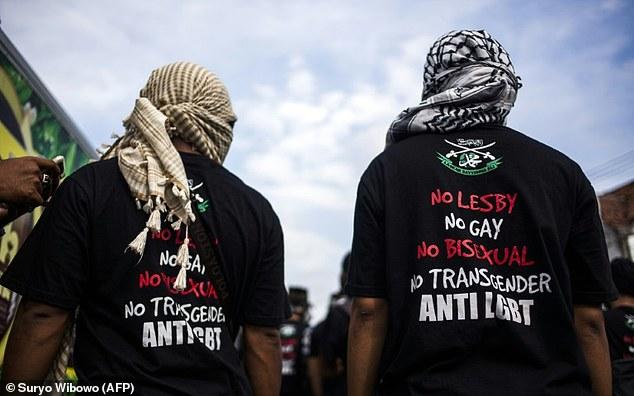 Aksi Masa menolak LGBT di Yogyakarta