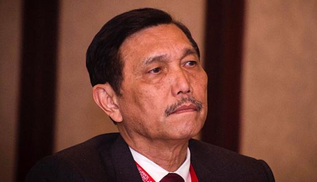 Luhut Binsar Pandjaitan Menter Koordinator Politik Hukum dan Keamanan Sumber : tempo