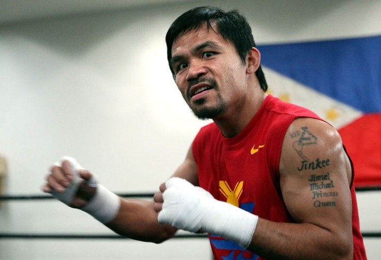Manny Pacquiao, Petinju dari Filipina Sumber : zute.sportsblog.com
