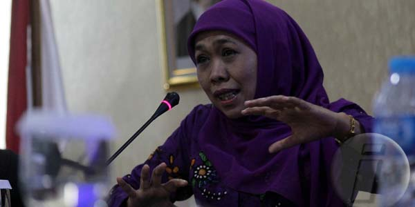 Menteri Sosial, Khofifah Indar Parawansa Sumber : aktualpost.com
