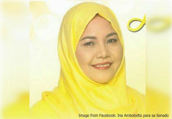 Nariman Ambolodto Salah satu Kandidat Senator di Filipina