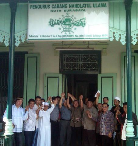 Kantor NU Surabaya Sumber: korannusantara