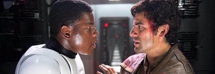 Bromance Finn dan Poe dalam film Starwars Sumber : ecartelera.com