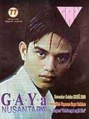 Salah satu sampul GAYa Nusantara