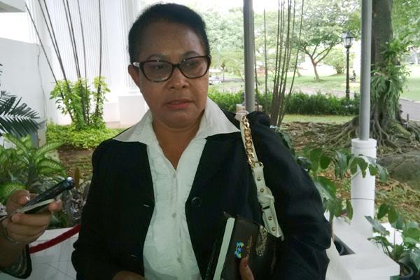 Yohana Susana Yembise, Menteri Pemberdayaan Perempuan dan Perlindungan Anak Sumber : satuharapan