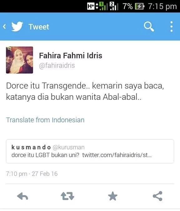 fahira idris tweet 0