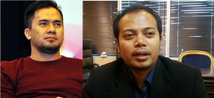 Saipul Jamil, Artis dan Penyanyi (kiri), Idy Muzayyad, Wakil Ketua KPI (kanan) Sumber : liputan6, kompas
