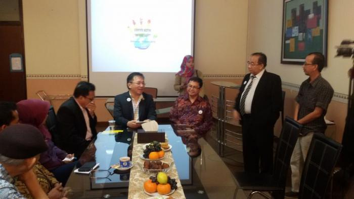 Jumpa pers Scientific Meeting Quo Vadis LGB T? di Gedung Eycman FK Unpad Bandung, Sabtu (19/3). Sumber :tribunnews