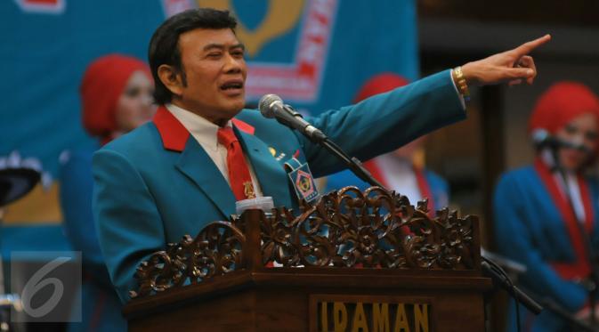 Rhoma Irama, Raja Dangdut, Ketua Umum Partai Idaman Sumber: liputan6